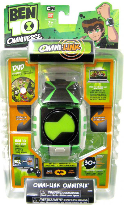 Ben 10 Omniverse Watch Omni-Link Omnitrix Roleplay Toy