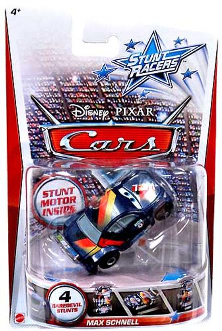 Disney Cars Stunt Racers Max Schnell Plastic Car