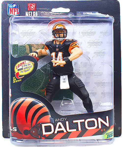 McFarlane Toys NFL Cincinnati Bengals Sports Picks Series 32 Andy Dalton Action Figure [Black Pants]