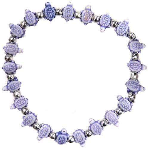 Trrtlz Purple Turtles Bracelet