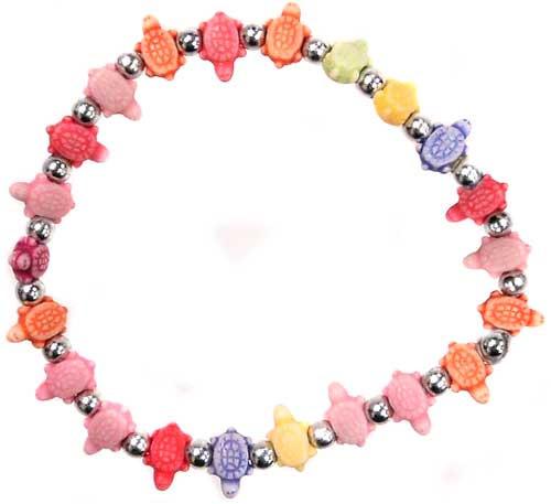 Trrtlz Rainbow Turtles Bracelet
