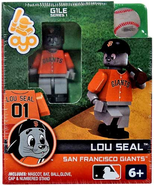 San Francisco Giants MLB Generation 1 Series 1 Lou Seal Minifigure