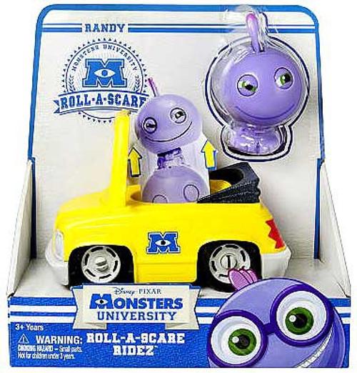 Disney / Pixar Monsters University Roll-a-Scare Ridez Randy Figure Set