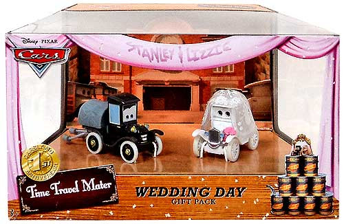 Disney Cars Multi-Packs Wedding Day Gift Pack Exclusive Diecast Car Set