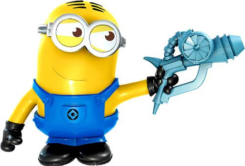 Despicable Me 2 Battle Pods Freeze Ray Dave 1-Inch Micro Figure #30 [Loose]