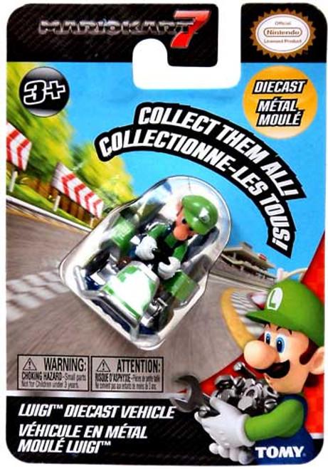 Super Mario Mario Kart 7 Luigi Diecast Vehicle