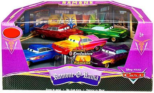 Disney Cars 1:43 Deluxe Sets Ramone-O-Rama Exclusive Diecast Car Set