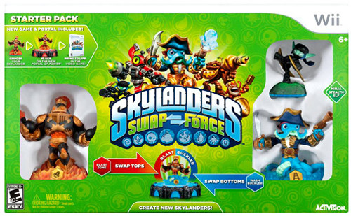 Skylanders Wii Swap Force Starter Pack