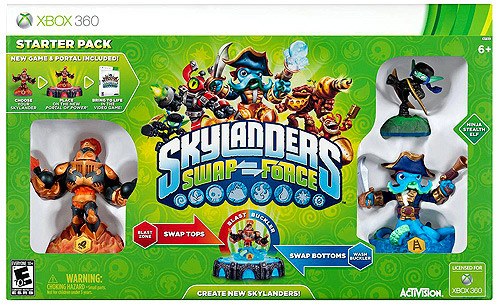Skylanders xBox 360 Swap Force Starter Pack