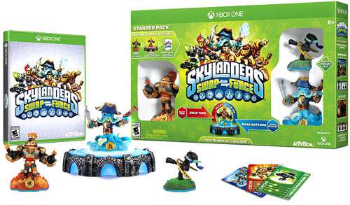 Skylanders xBox One Swap Force Starter Pack