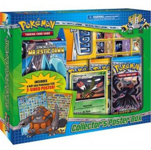 Pokemon Diamond & Pearl Majestic Dawn Collector's Poster Box [Sealed]
