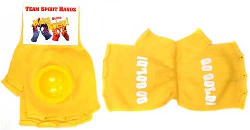 Yellow Team Spirit Handz