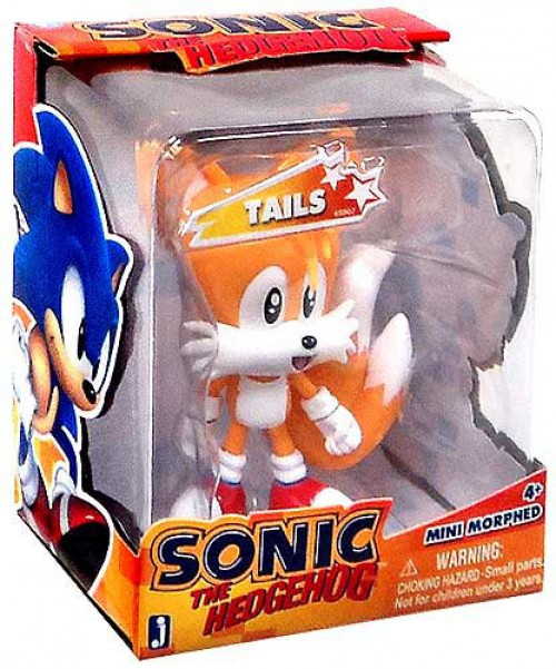 Sonic The Hedgehog Mini Morphed Tails 2.75-Inch Figure [Classic]