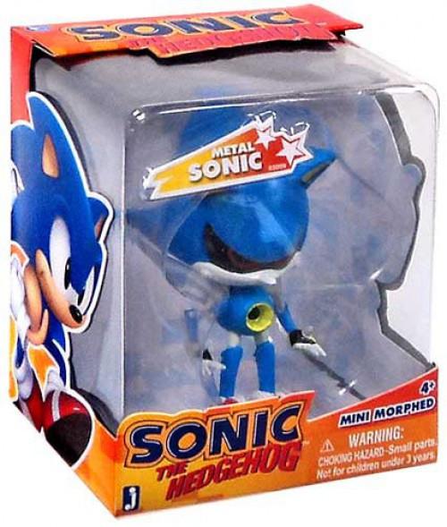 Sonic The Hedgehog Mini Morphed Metal Sonic 2.75-Inch Figure [Classic]