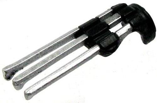 GI Joe Loose Weapons Tekagi Action Figure Accessory [Black & Silver Loose]