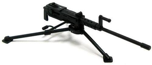 GI Joe Loose Weapons M2 Browning Machine Gun & Tripod Action Figure Accessory [Black Loose]