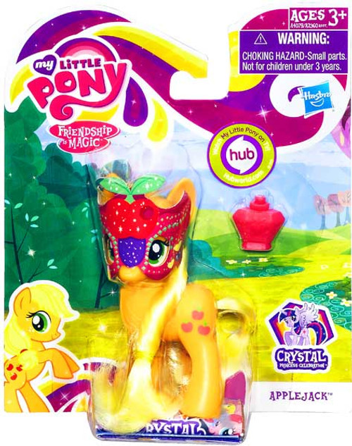My Little Pony Friendship is Magic Crystal Empire Masquerade Applejack Figure