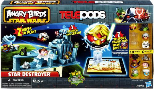 Star Wars Angry Birds Telepods Star Destroyer Playset