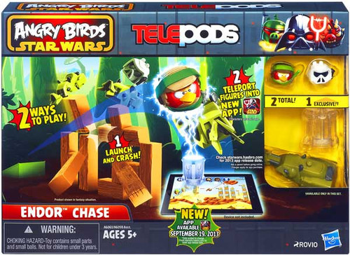 Star Wars Angry Birds Telepods Endor Chase Playset