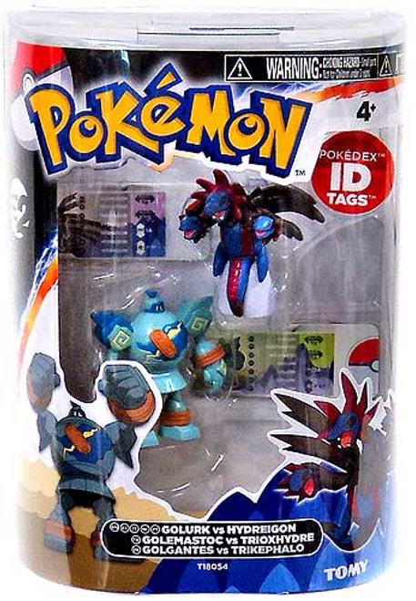 Pokemon Black & White Basic Golurk vs. Hydreigon Figure 2-Pack