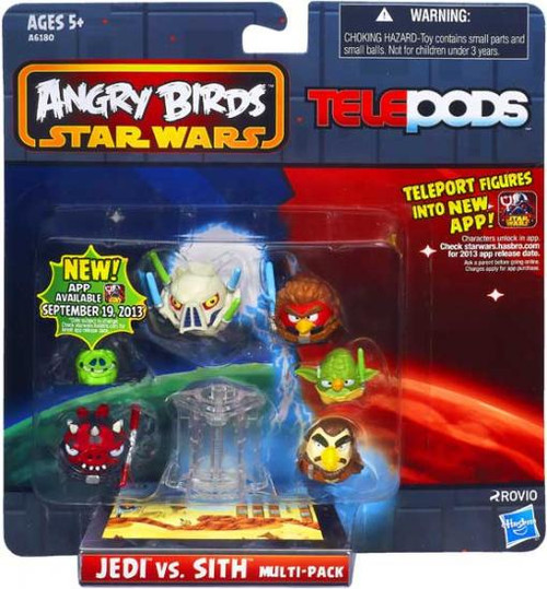Star Wars Angry Birds Jedi vs. Sith Telepods Figure Pack