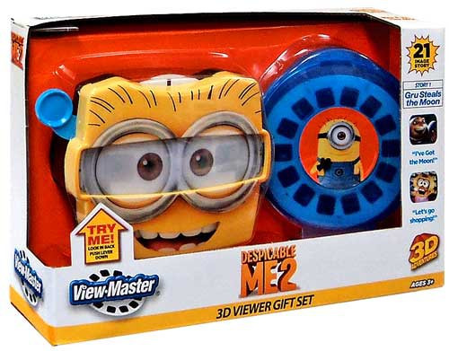 Despicable Me 2 3D View Master Gift Set