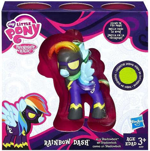 My Little Pony Collector Series Rainbow Dash as Shadowbolt Exclusive Figure