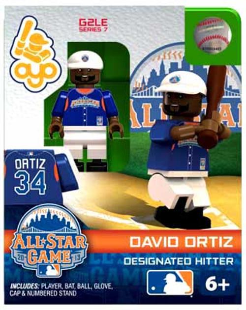 American League MLB Generation 2 Series 7 David Ortiz Minifigure [All-Star Game]