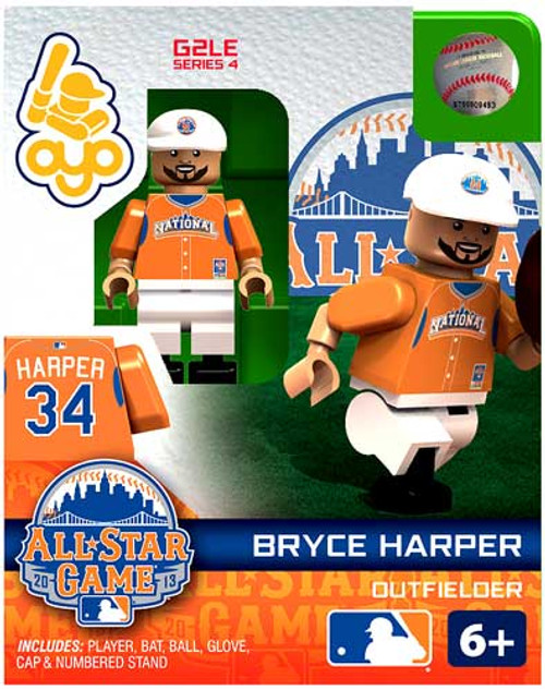 National League MLB Generation 2 Series 4 Bryce Harper Minifigure [All-Star Game]