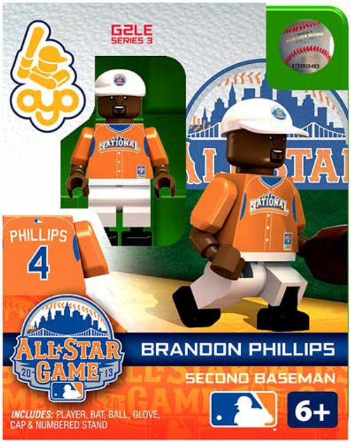 National League MLB Generation 2 Series 3 Brandon Phillips Minifigure