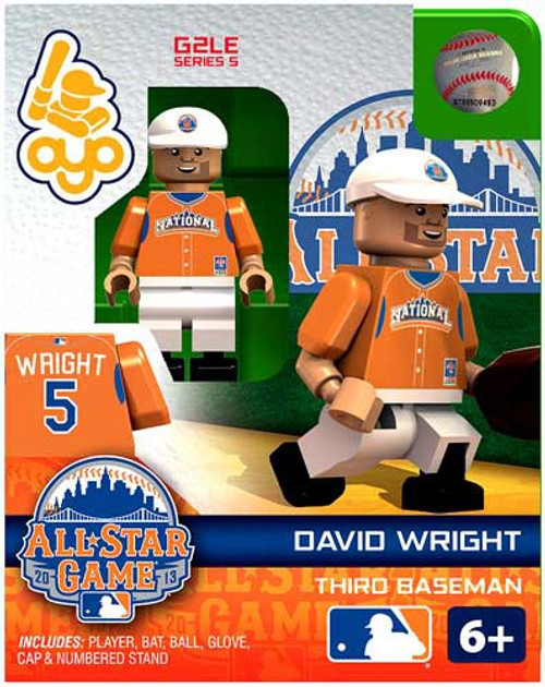 National League MLB Generation 2 Series 5 David Wright Minifigure [All-Star Game]