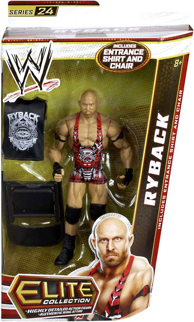 WWE Wrestling Elite Series 24 Ryback Action Figure [Entrance Shirt & Chair]