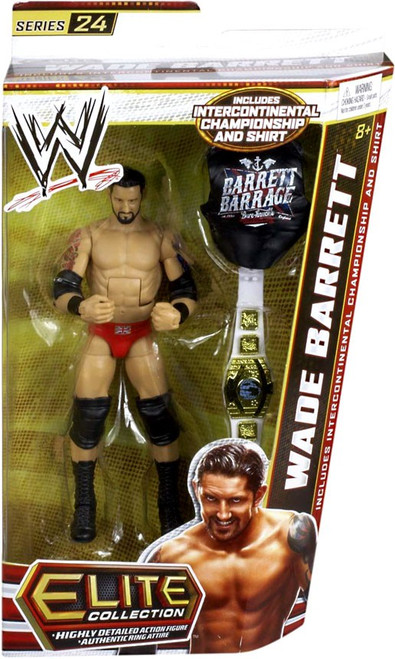 WWE Wrestling Elite Series 24 Wade Barrett Action Figure [Intercontinental Championship & Shirt]