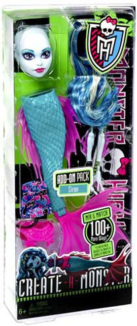 Monster High Create-A-Monster Siren Add-On Pack 10.5-Inch