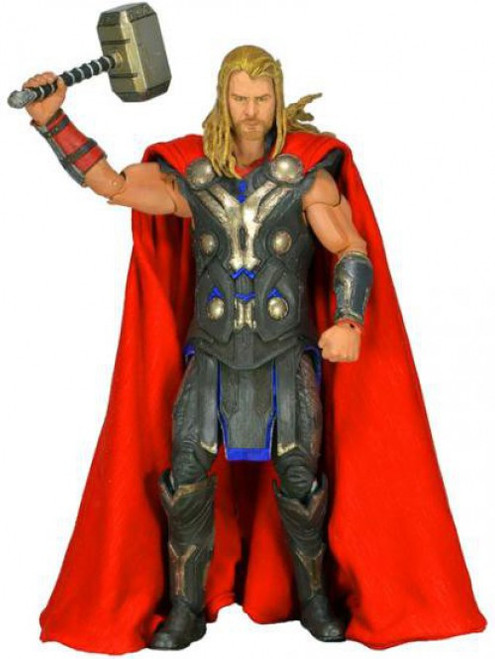 NECA Marvel Avengers Quarter Scale Thor Action Figure