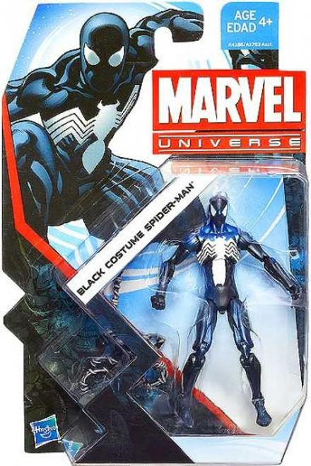 Marvel Universe Series 22 Black Costume Spider-Man Action Figure #7
