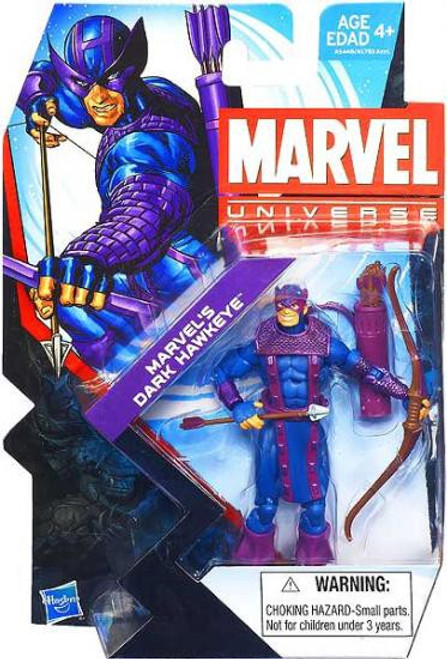 Marvel Universe Series 22 Marvel's Dark Hawkeye Action Figure #12