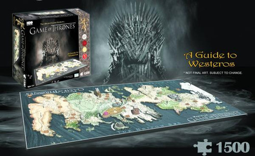 Game of Thrones 4D Cityscape Westeros Puzzle
