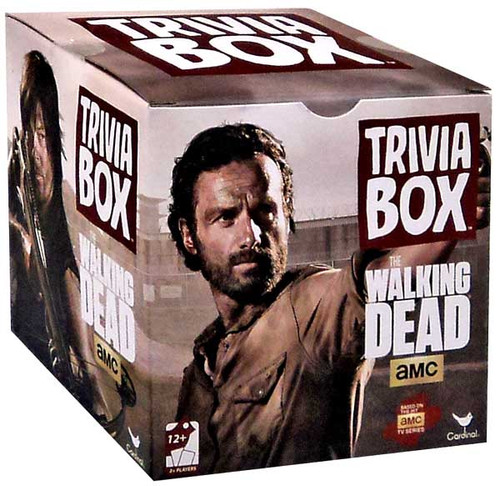 The Walking Dead AMC TV Games Walking Dead Trivia Box Board Game