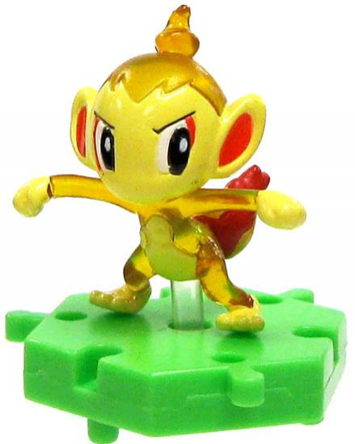 Pokemon Japanese Connecting Figures Crystal Chimchar 1-Inch PVC FIgure