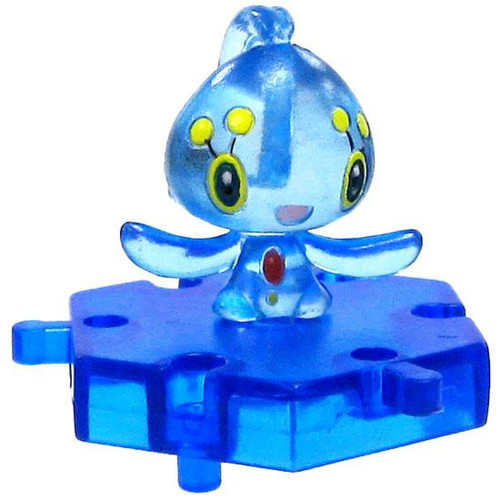 Pokemon Japanese Connecting Figures Crystal Phione 1-Inch PVC FIgure