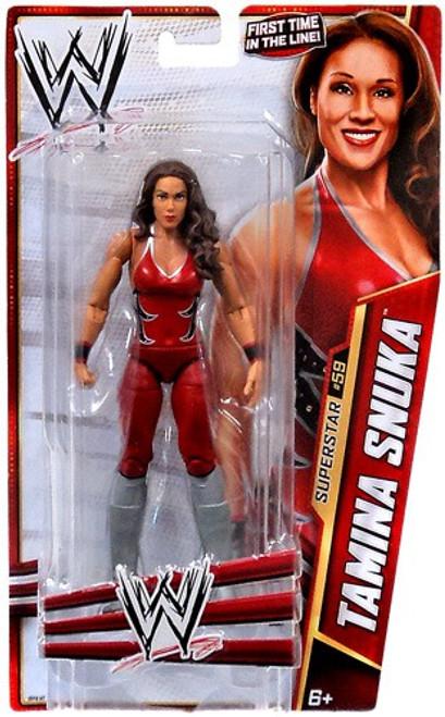 WWE Wrestling Series 33 Tamina Snuka Action Figure #59