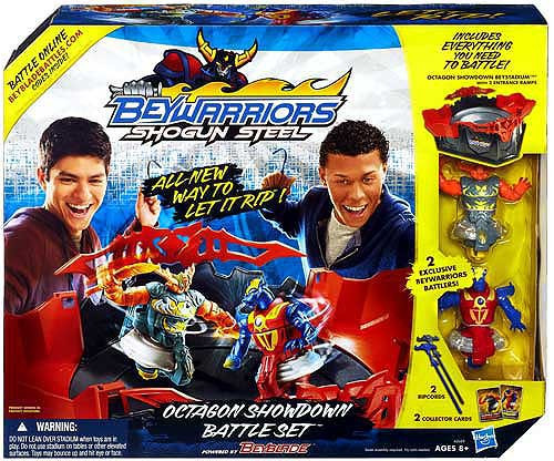 Beyblade Beywarriors Shogun Steel Octagon Showdown Battle Set Playset