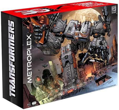 Transformers Titan Class Metroplex Exclusive Action Figure