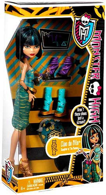 Monster High Shoe Collection Cleo de Nile 10.5-Inch Doll