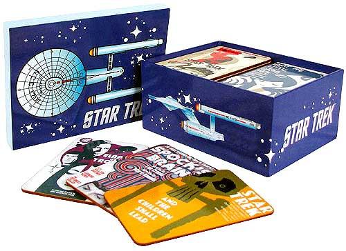 The Original Series Star Trek Fine Art Coaster set