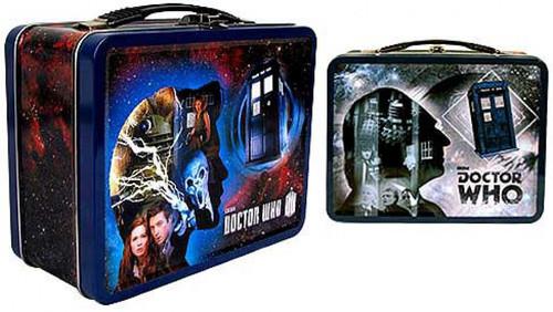 Doctor Who 50th Anniversary Tin Tote Gift Set Exclusive Figure Set
