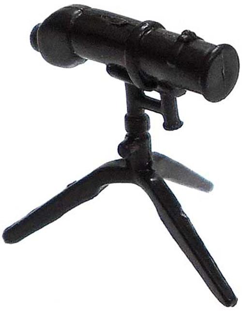GI Joe Loose Weapons Telescopic Range Finder on Tri-Pod Action Figure Accessory [Black Loose]
