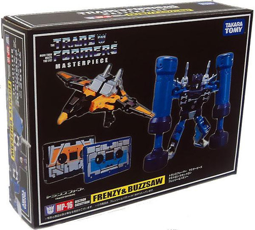 Transformers Japanese Masterpiece Collection Frenzy & Buzzsaw Action Figure Set MP-16