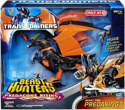 Transformers Prime Beast Hunters Predacons Rising Beast Fire Predaking Exclusive Action Figure